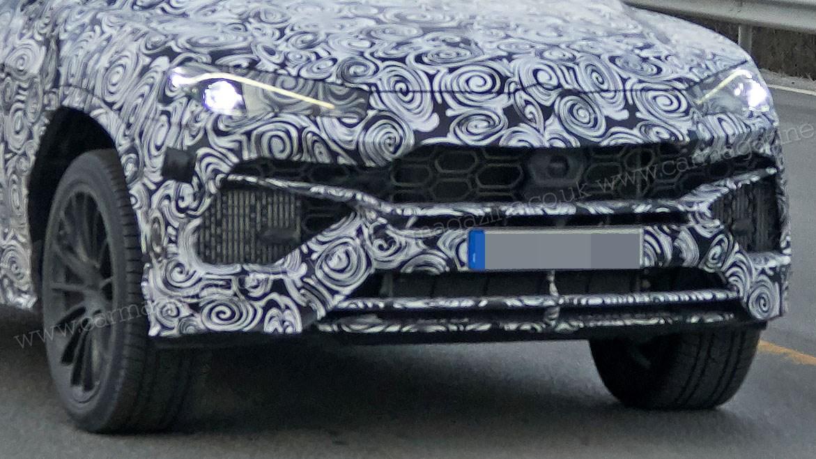 New Lamborghini Urus SUV spotted being thrashed around the