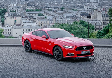 Ford Mustang: not your average city car