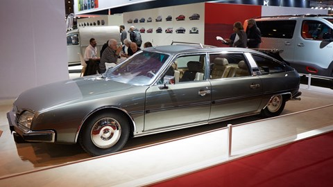 Citroen CX Prestige Landaulet designed by French coachbuilder Henri Chapron for the Grand Duke of Luxembourg's wedding