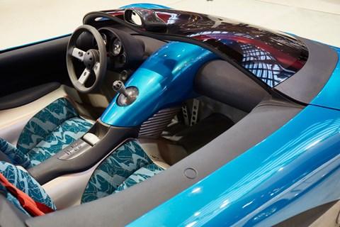 Renault Laguna concept interior