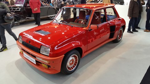 Renault 5 Turbo 2, with TURBO vinyls galore