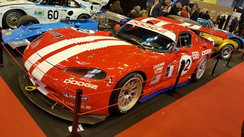 Dodge Viper GTS-R, no doubt bringing back Gran Turismo memories for readers of a certain age