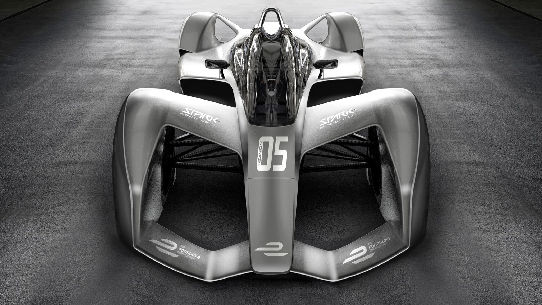 The New 2017 Formula E Racer