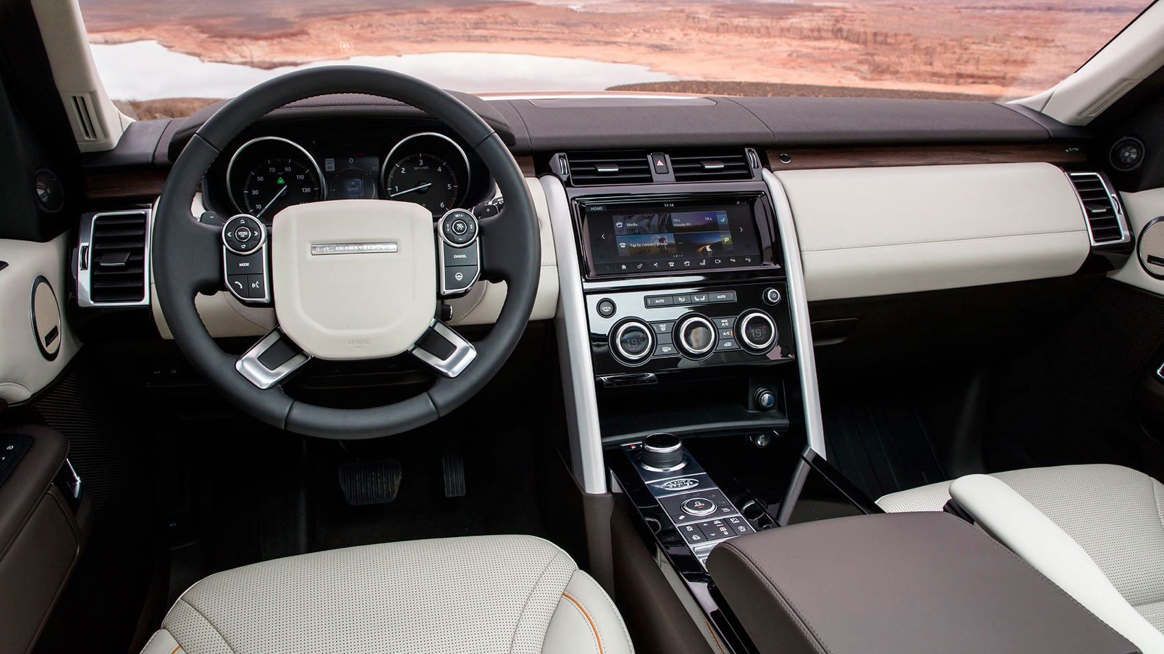 2018 land rover discovery interior. perfect discovery land rover disco in the utah desert interior much improved to 2018 land rover discovery interior