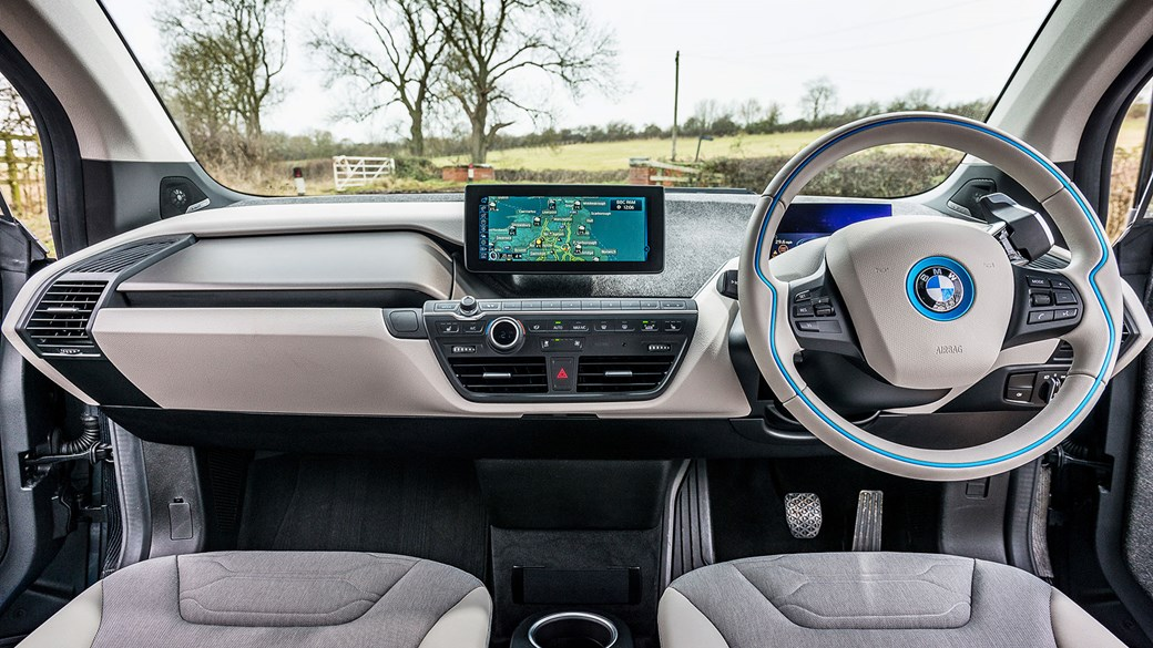 The Cabin Of Our Bmw I3 Modern Light And Airy