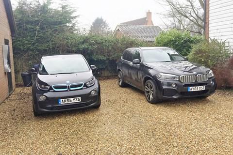 BMW i3 LTT vs X5