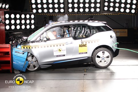 BMW i3: Euro NCAP crash test