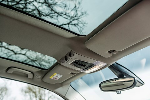 BMW i3 sunroof