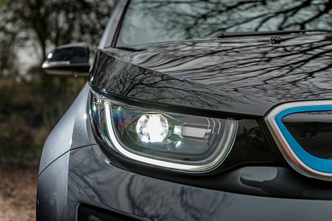 BMW i3 headlight