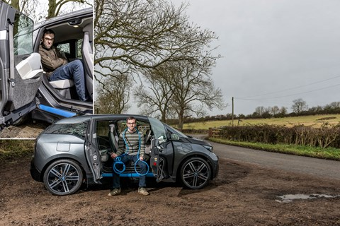 BMW i3 and its 'suicide' rear doors