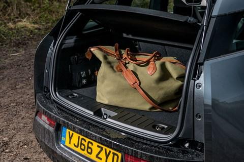 BMW i3 bootspace
