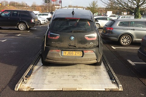 BMW i3 REX long-term trailer