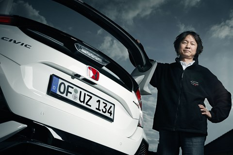 Honda engineering chief Ryuichi Kijima