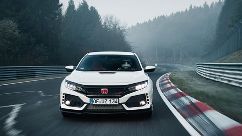 Delicieux Honda Civic Type R Sets New FWD Nurburgring Record