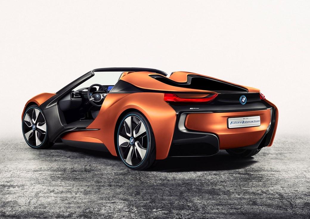 2016 BMW i8 Spyder Concept