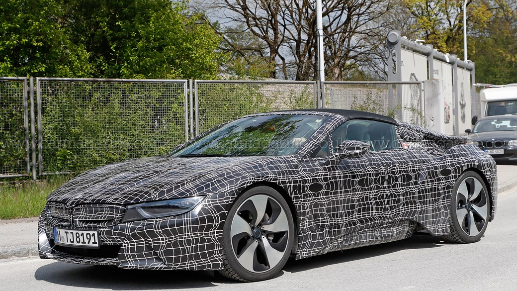BMW i8 Roadster - it's nearly ready