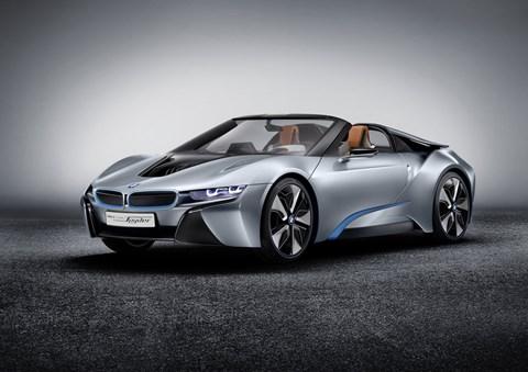 2012 BMW i8 Spyder Kavramı