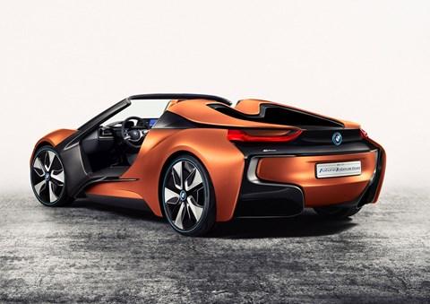 2016 BMW i8 Spyder Kavramı