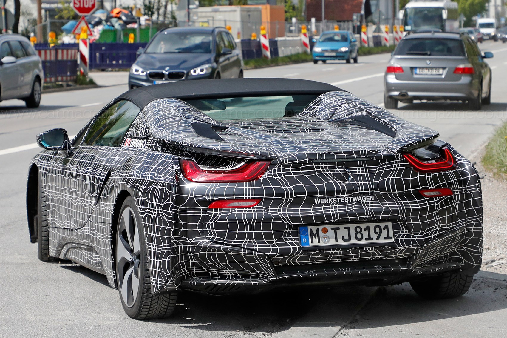 Bmw I8 Roadster It S Nearly Ready Car Magazine