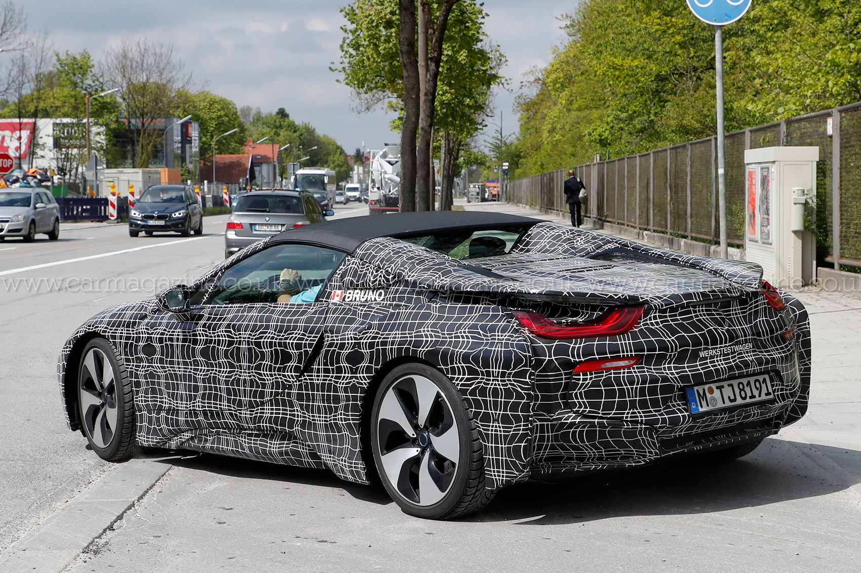 Bmw I8 Roadster It S Nearly Ready By Car Magazine