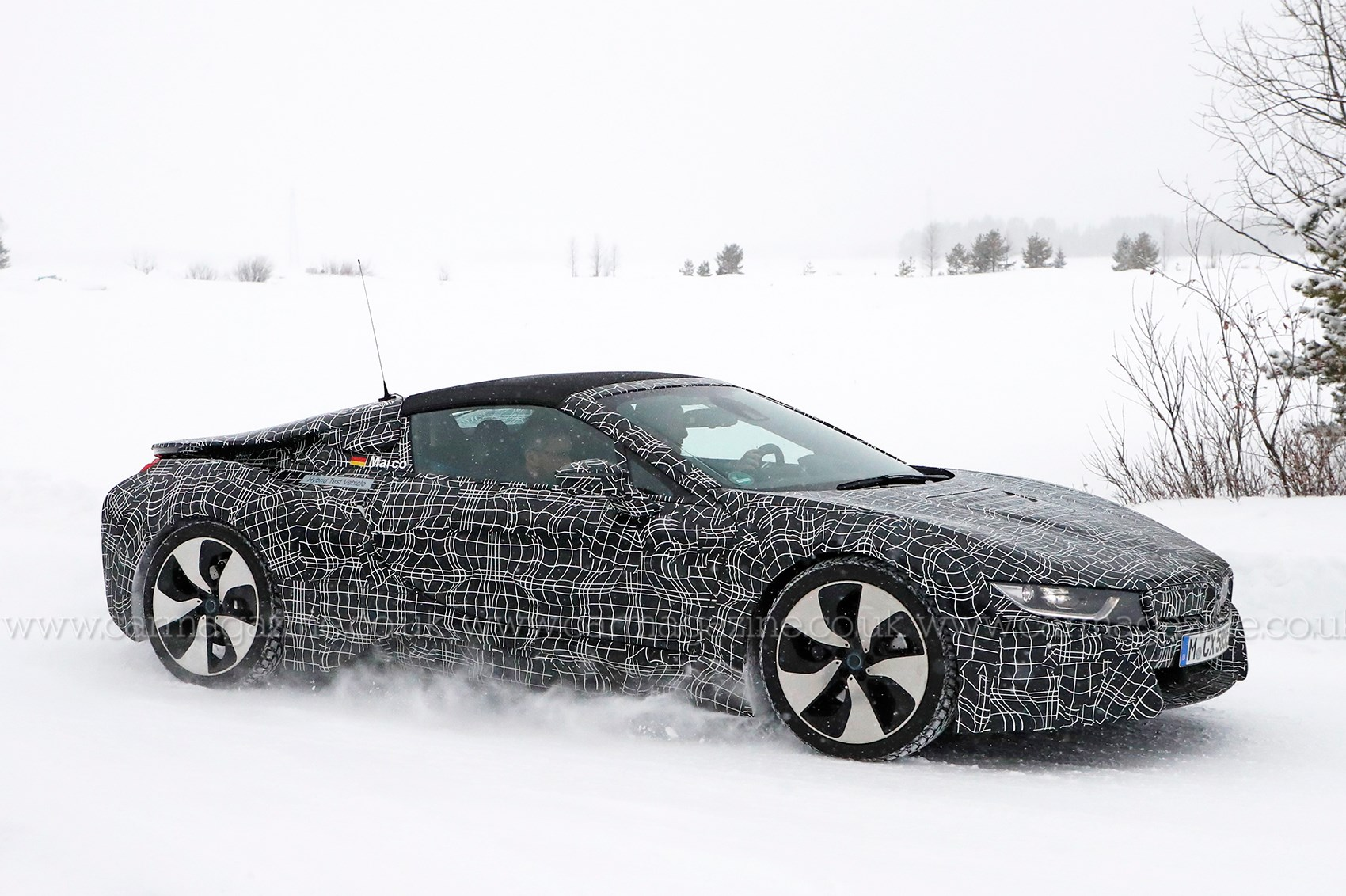 Blacked Out Cars >> BMW i8 Roadster - it's nearly ready | CAR Magazine