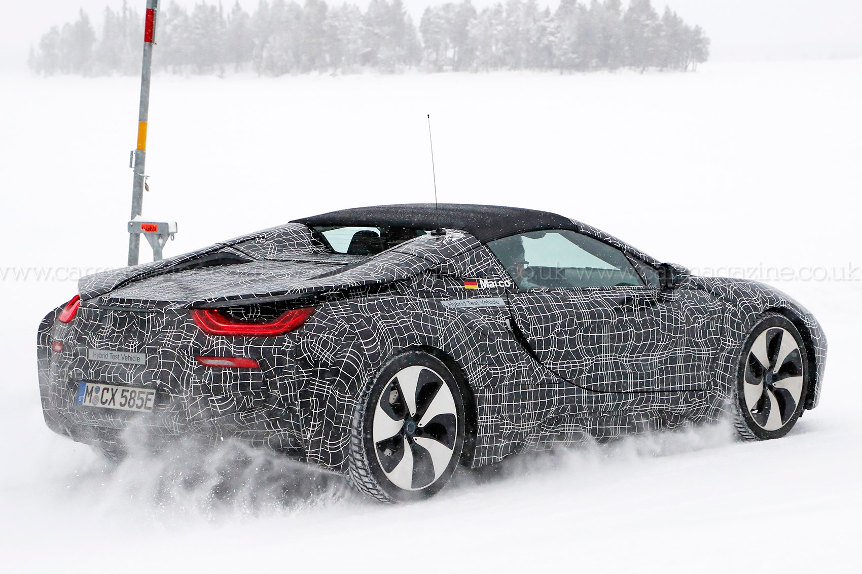 BMW i8 Roadster - it's nearly ready by CAR Magazine