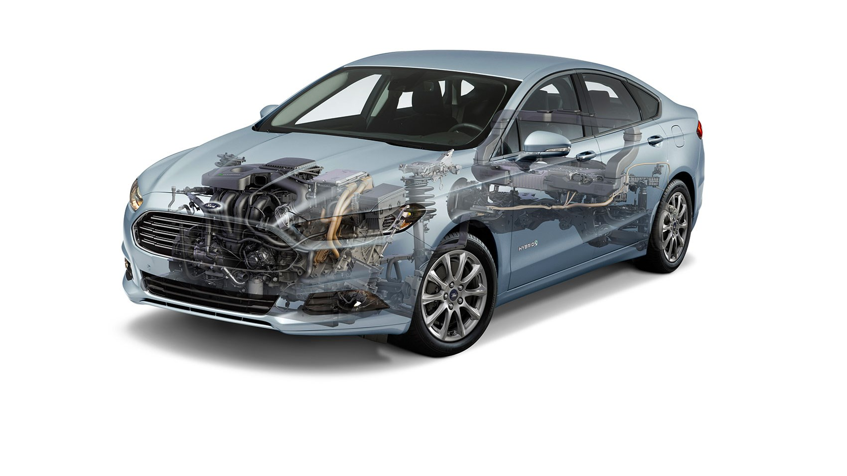 Ford Mondeo Hybrid tech