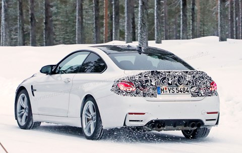 BMW M4 CS: CAR magazine spy photos
