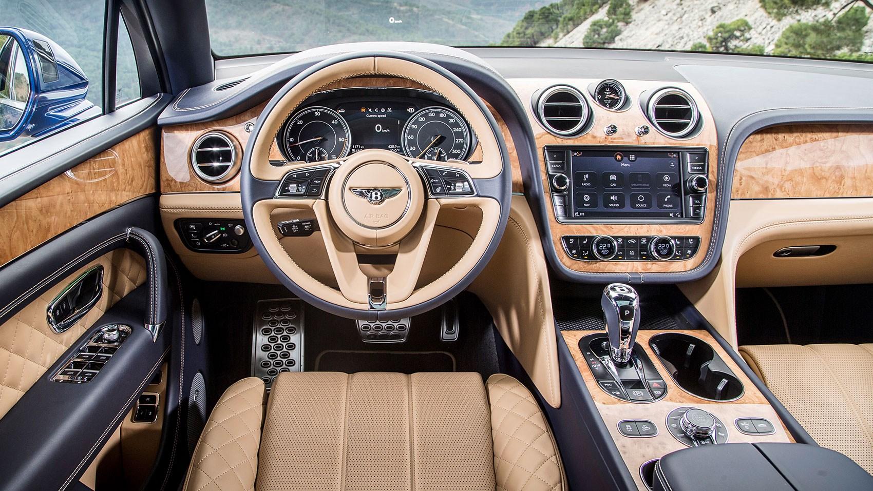 Bentley Bentayga Diesel 2017 Review By Car Magazine