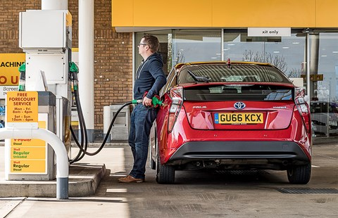 Toyota Prius hybrid long-term test review: not a fan of petrol stations