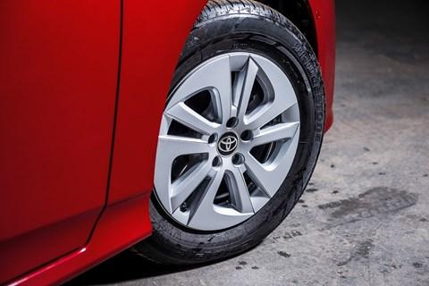 Toyota Prius long-term test wheels