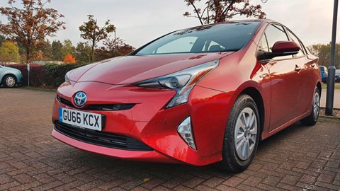 The CAR magazine Toyota Prius long-term test review