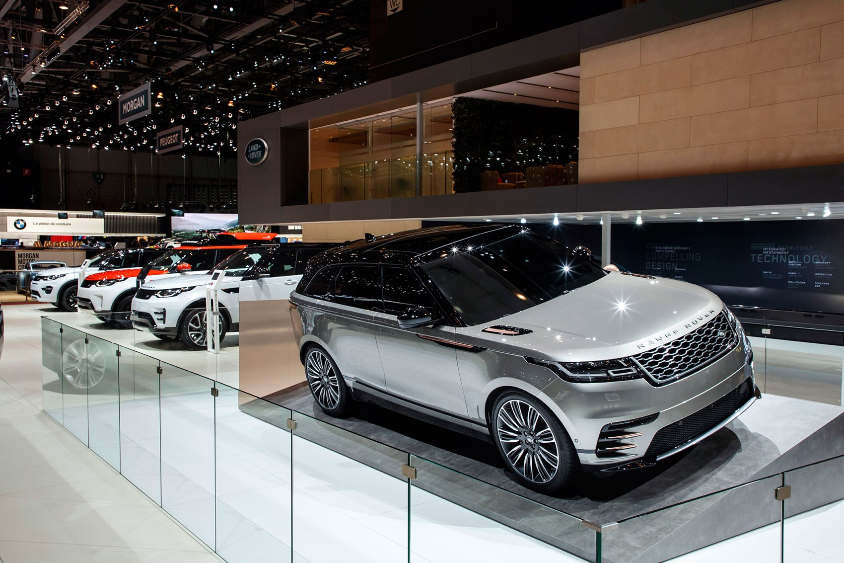 New range rover velar revealed in pictures by car magazine - Geneva car show ...