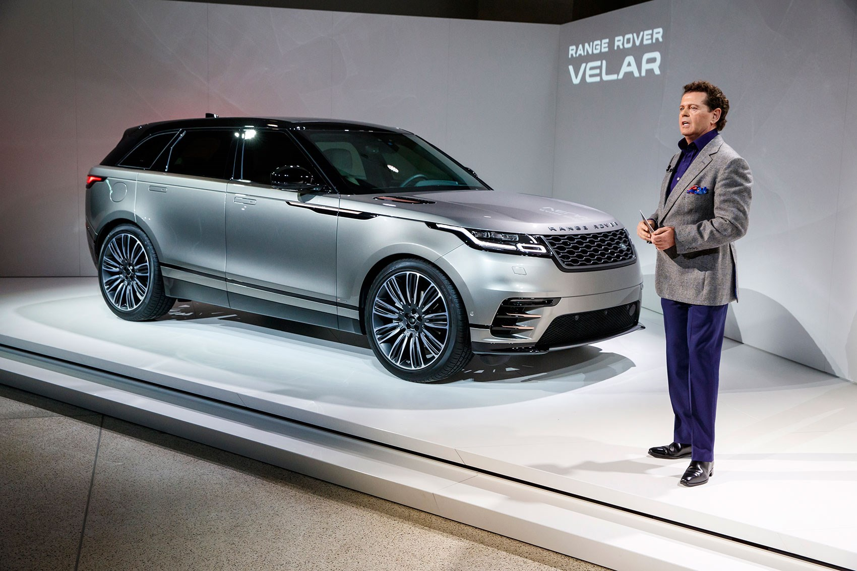 The Range Rover Velar At 2017 Geneva Motor Show Unveiled By Design Chief Gerry Mcgovern