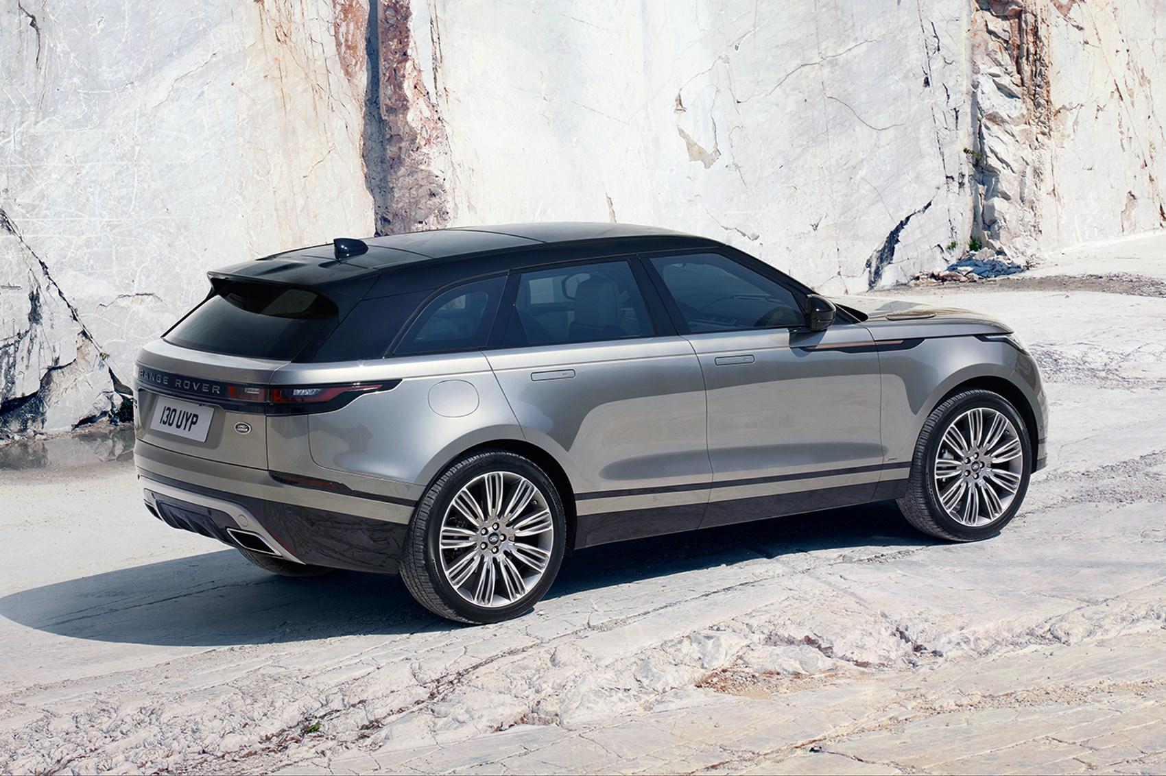 new range rover velar revealed in pictures by car magazine. Black Bedroom Furniture Sets. Home Design Ideas