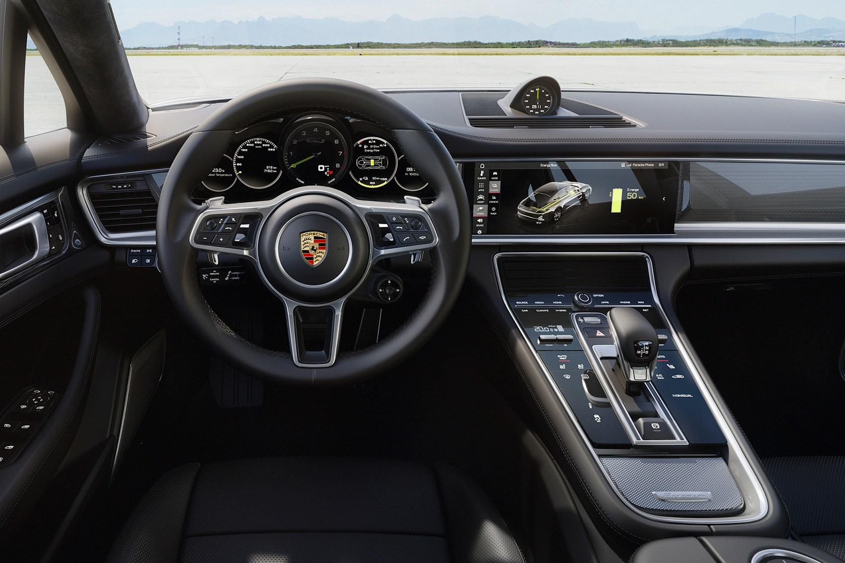 Porsche Panamera Turbo S E Hybrid The Fastest Panam Is A Plug In