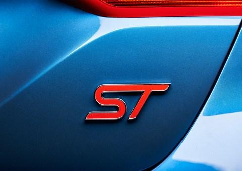 ST badging: the Sport Technologies Fiesta