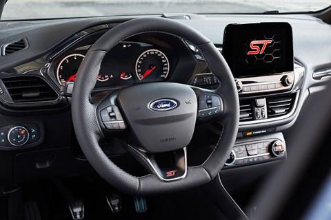Ford Fiesta ST (2018) cabin