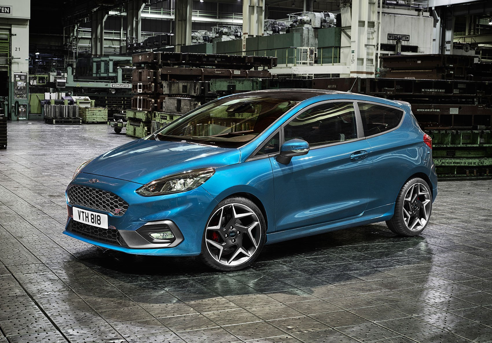 Say Hello To The New Three-Cylinder Ford Fiesta ST