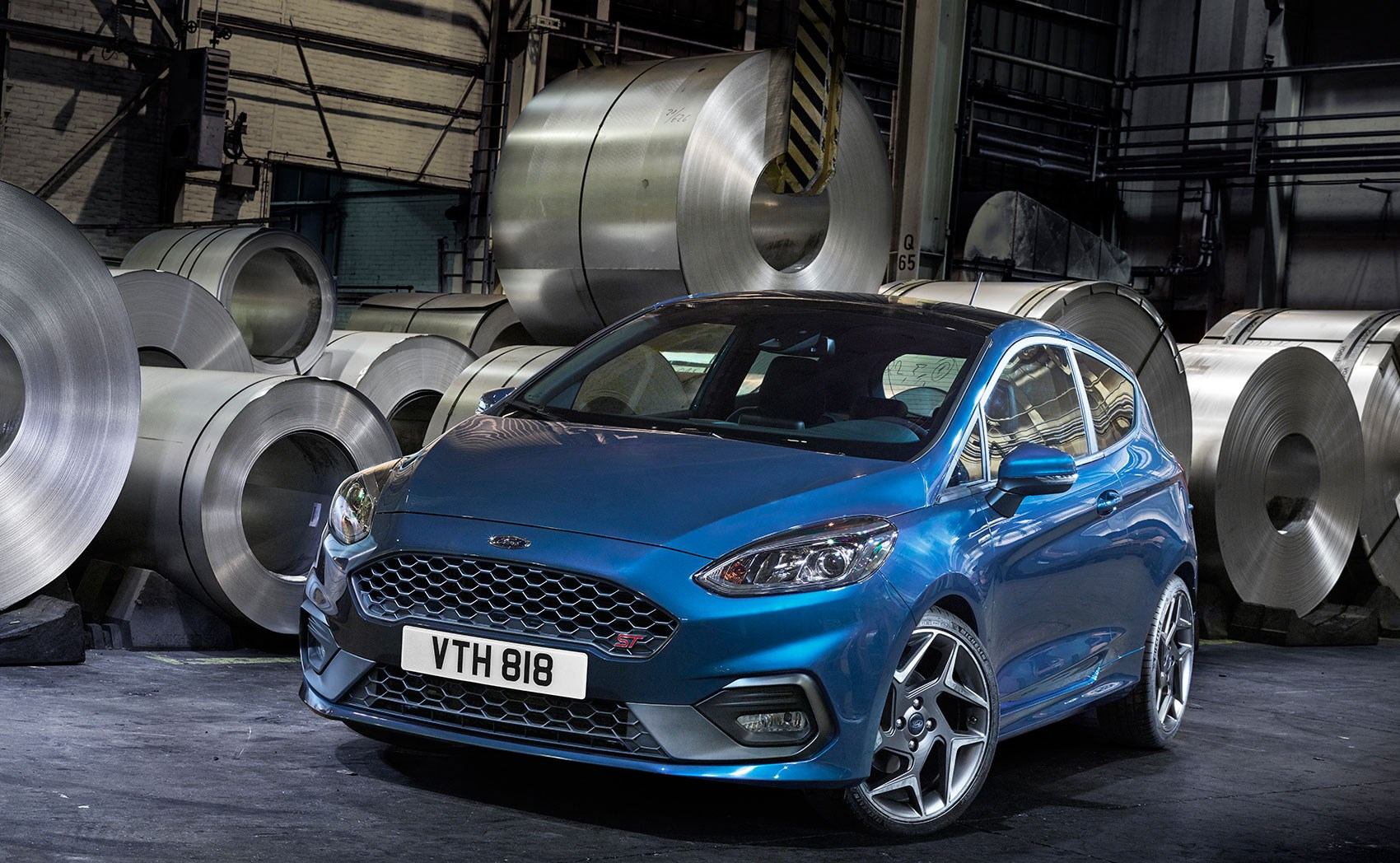 new ford 2018.  new high rollers the ford fiesta st arrives in early 2018 on new ford