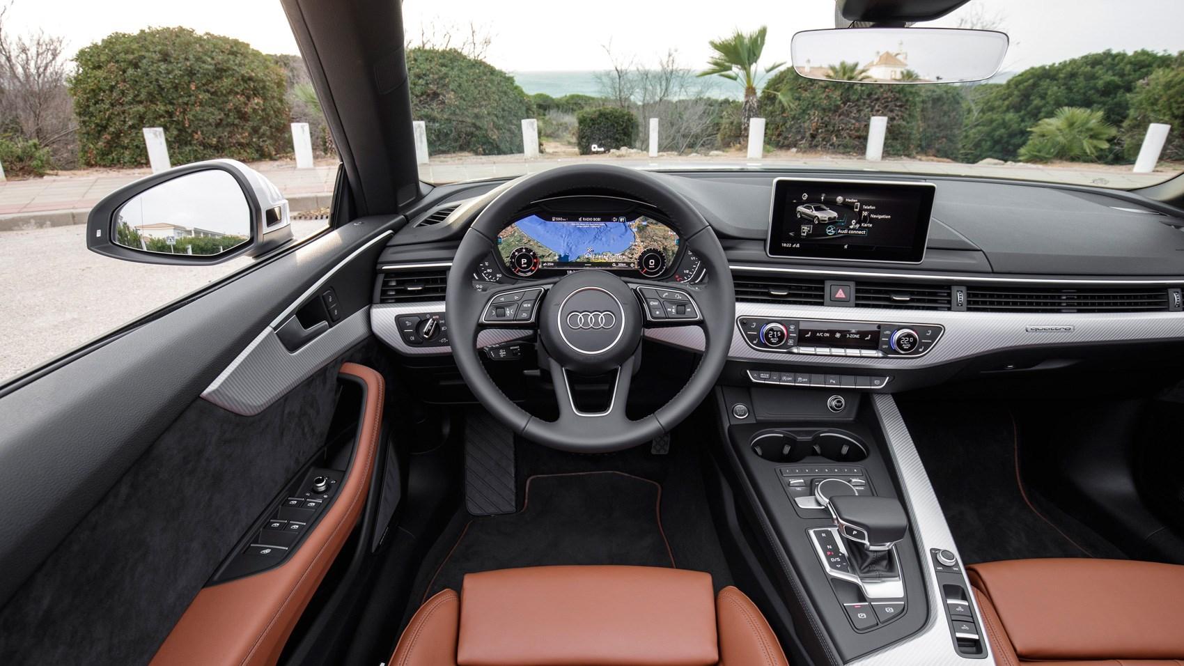 Audi a5 cabriolet 2017 interior