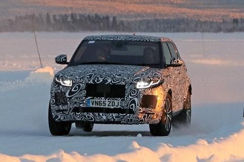 Jaguar E-Pace: our earlier spy photos