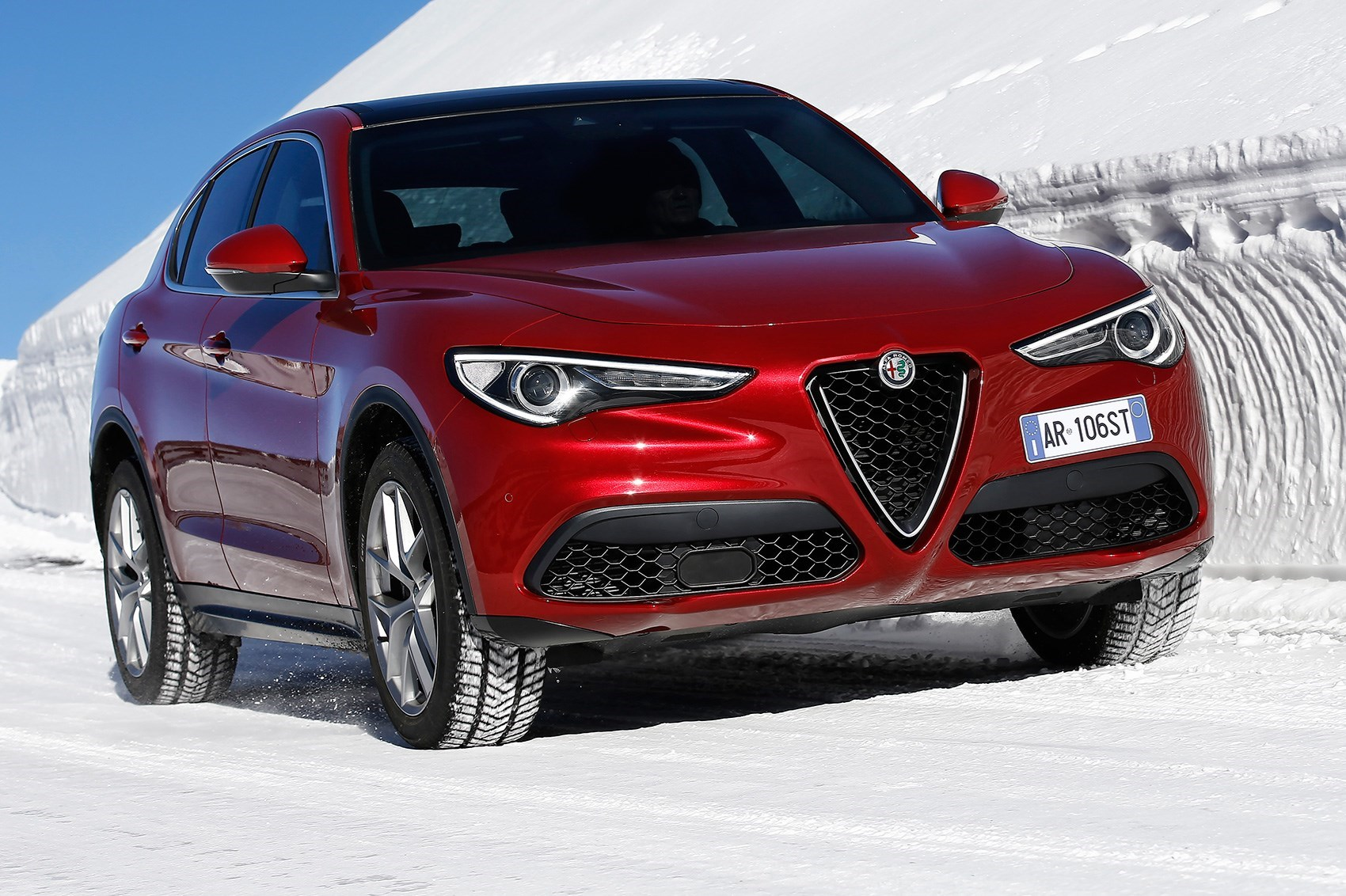 Is Jaguar Gate Crashing The Alfa Stelvio Launch With Its E