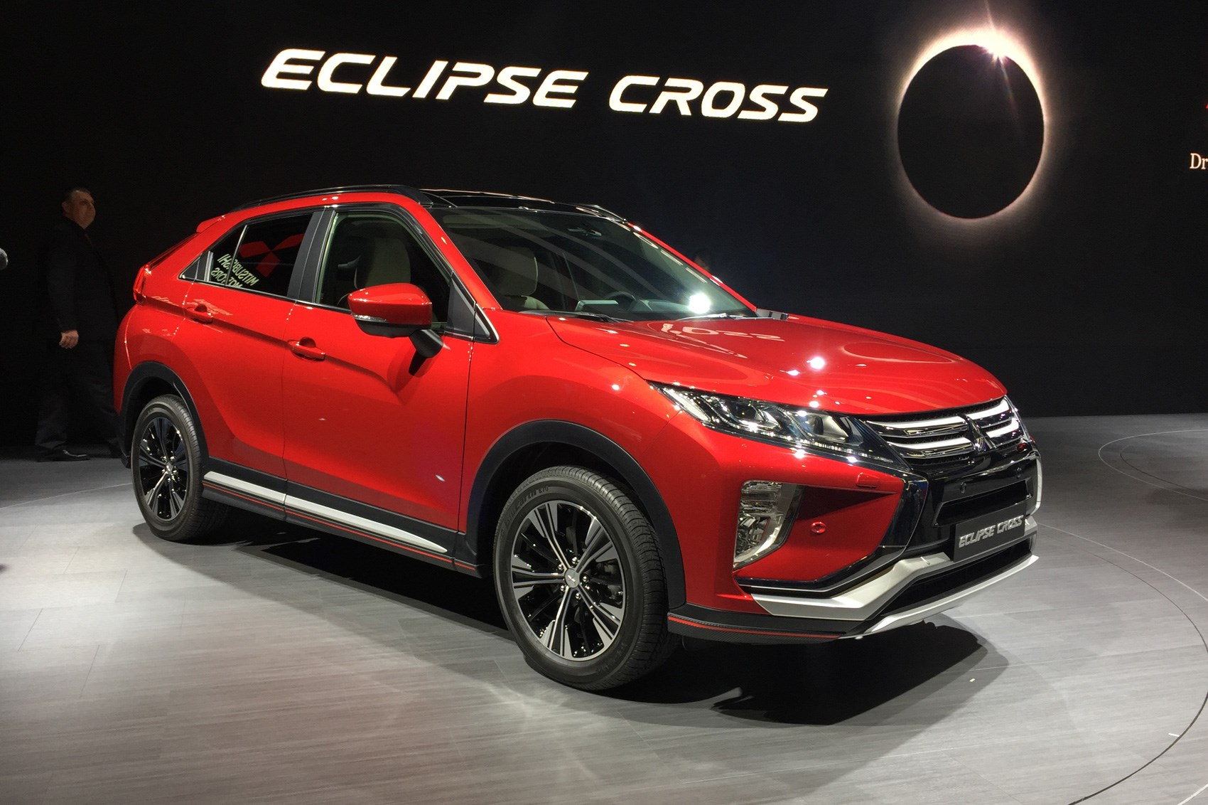 Mitsubishi Eclipse Cross Production Car At Geneva 2017
