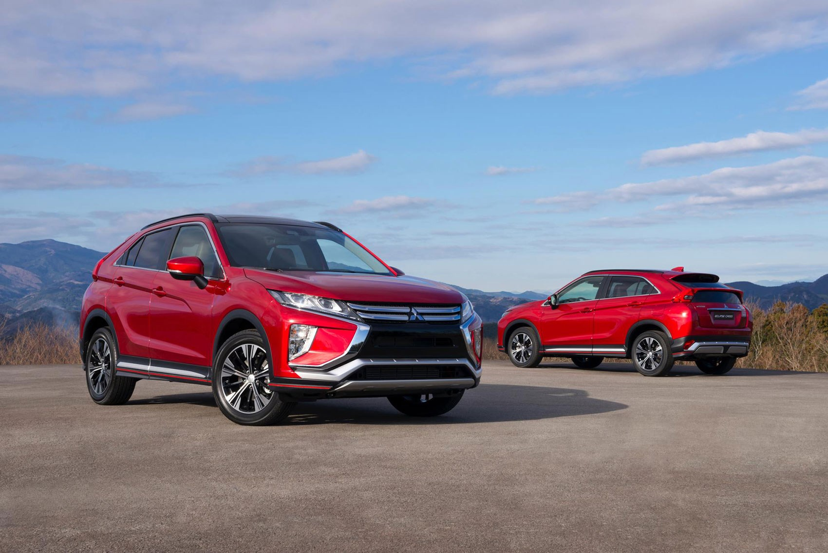 Mitsubishi Eclipse Cross Production Car At Geneva 2017 Unveiled The Motor Show New