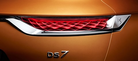 DS7 Crossback rear light