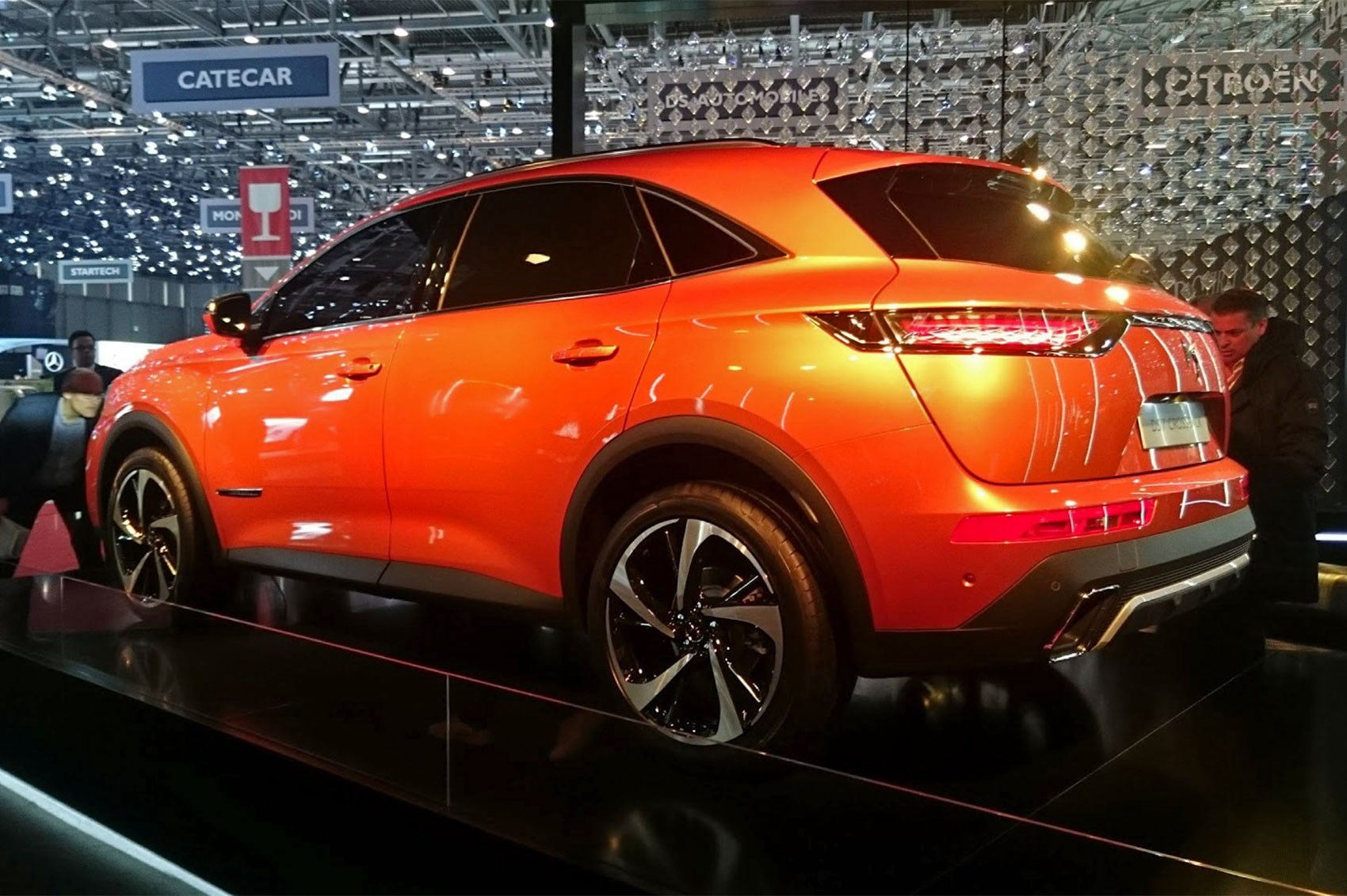 DS7 Crossback SUV: new French president Macron has first dibs by CAR Magazine