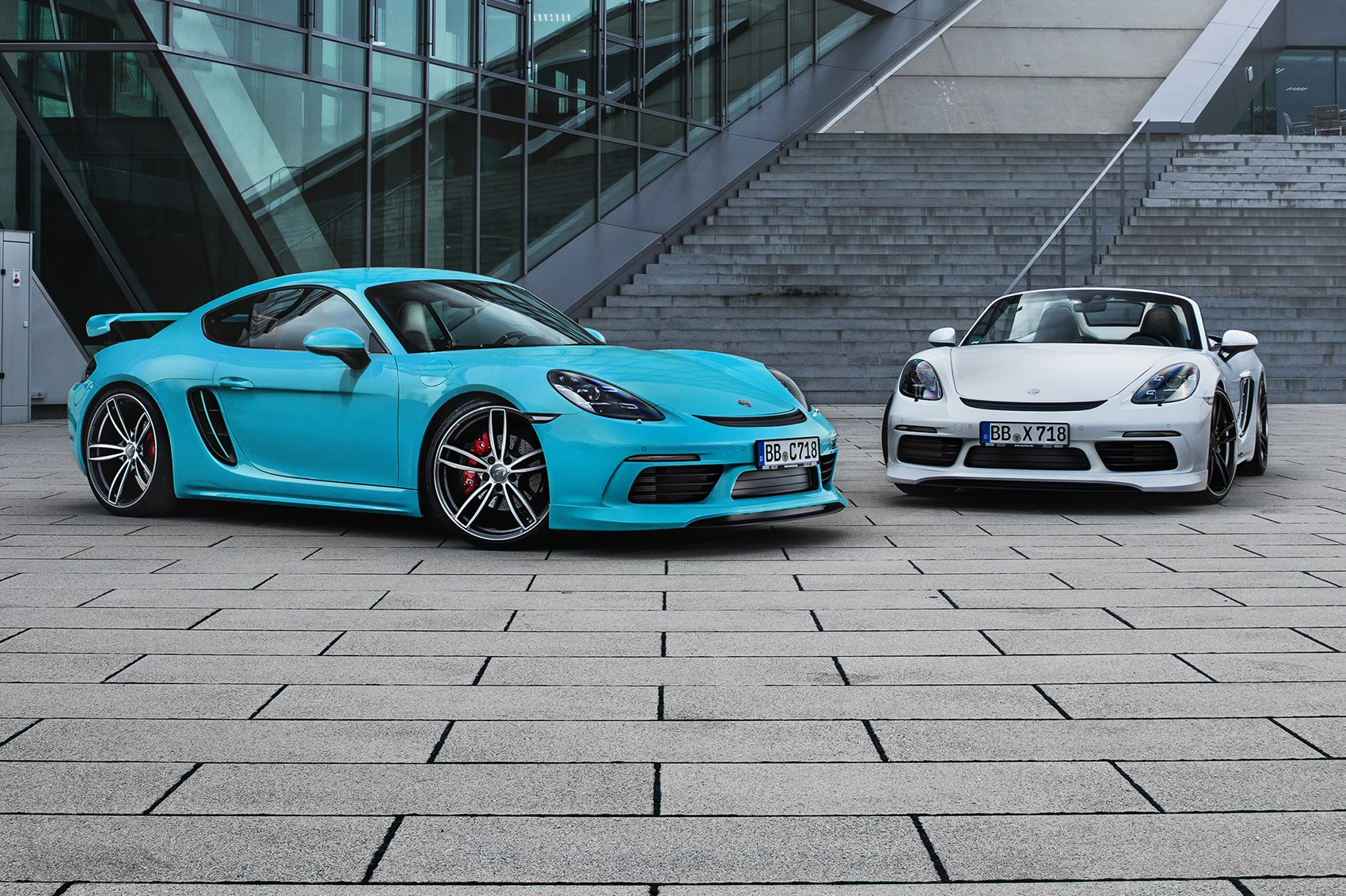 Techart Adds Muscle To The Porsche 718 Cayman By Car Magazine
