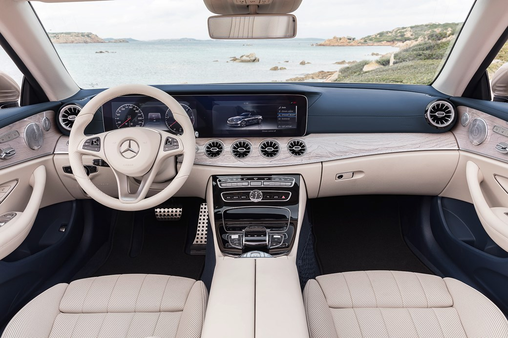 Merc Blows The Roof Off The Mercedes E Class Cabriolet At Geneva