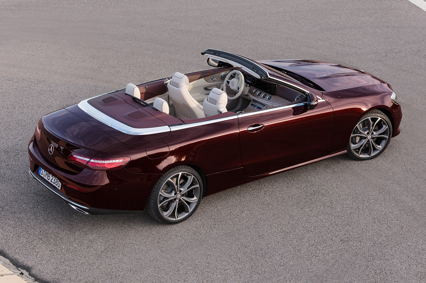 Merc Blows The Roof Off The Mercedes E Class Cabriolet At